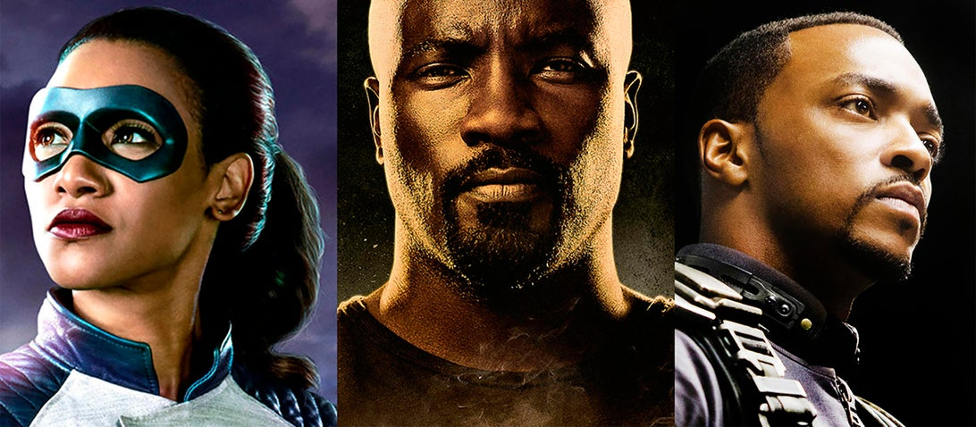 Candice Patton, Mike Colter, Anthony Mackie