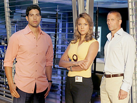 "CSI: Miami - ""If Looks Could Kill"" - Adam Rodriguez, Eva LaRue and guest star, Rob Estes"