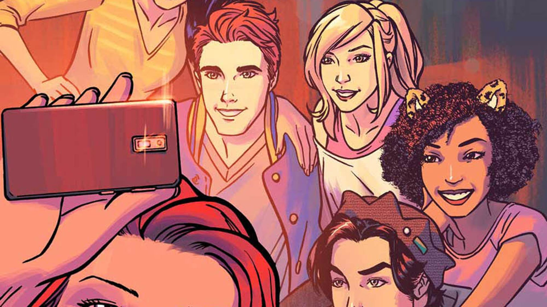 Riverdale One-Shot, art by Alitha Martinez with Steve Downer
