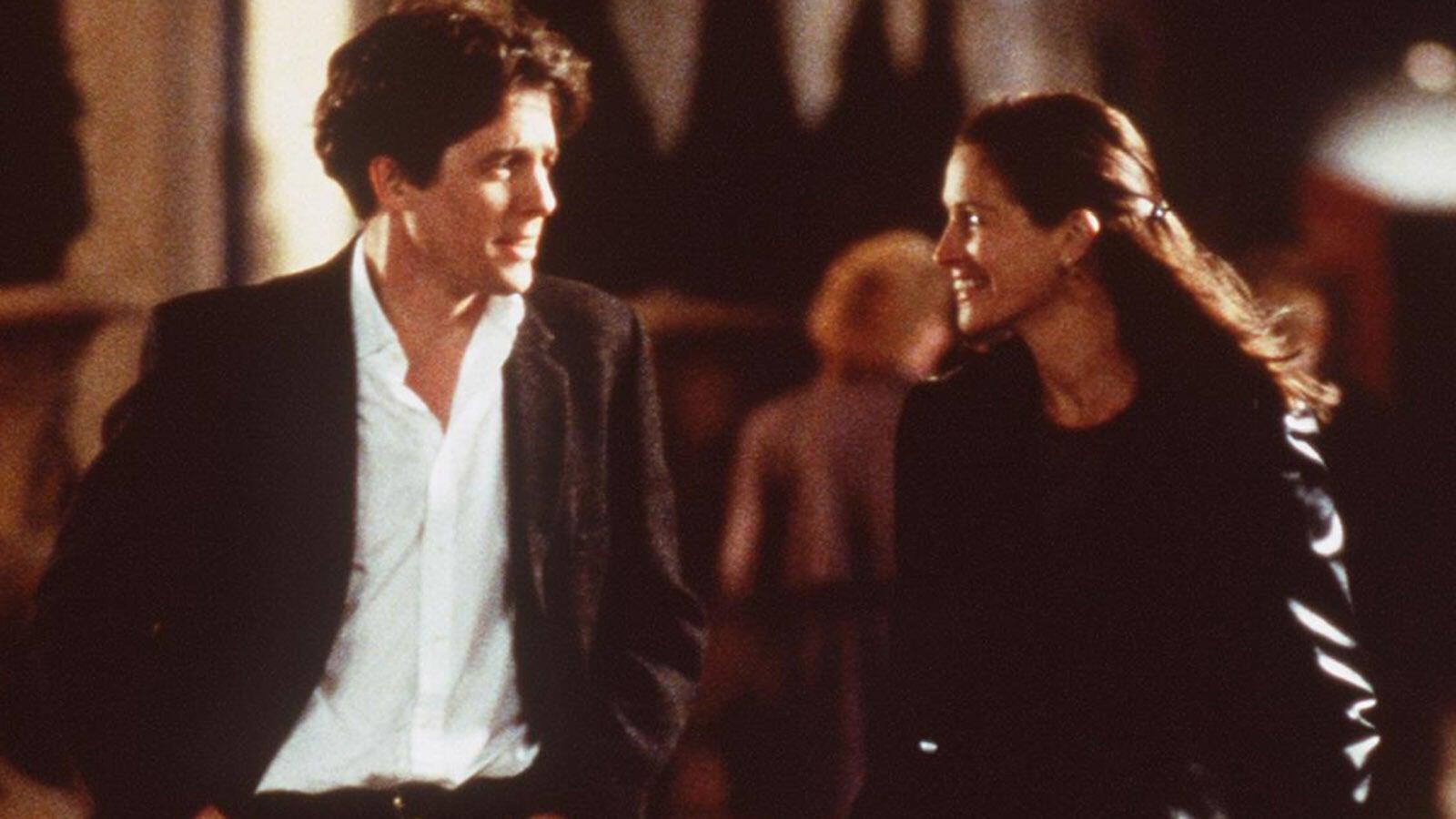 Hugh Grant and Julia Roberts, Notting Hill