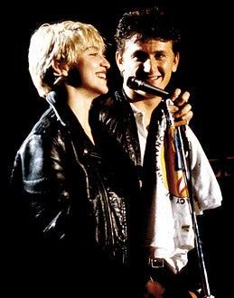 Madonna and Sean Penn - Madonna and Sean Penn, circa 1980s