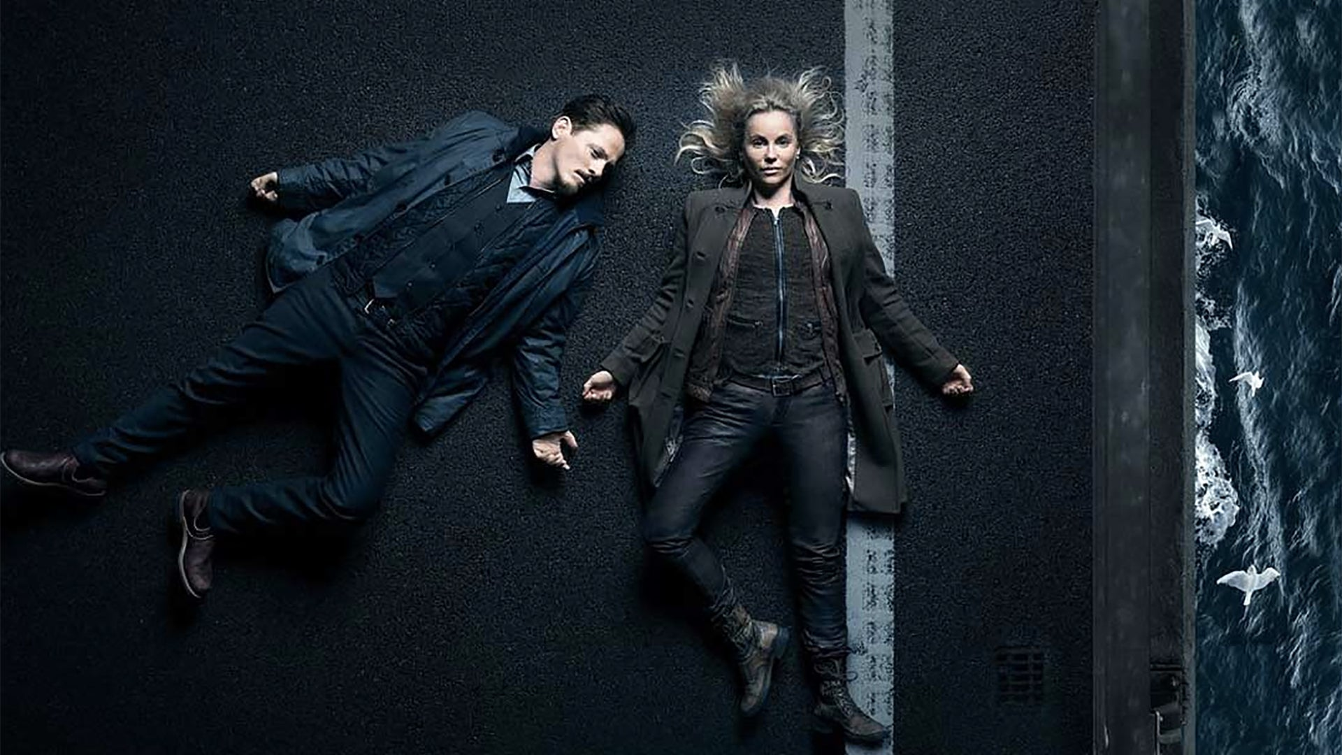 Sofia Helin and Thure Lindhardt, The Bridge