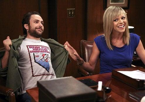 It's Always Sunny in Philadelphia - Season 5 - Charlie Day as Charlie and Kaitlin Olson as Sweet Dee