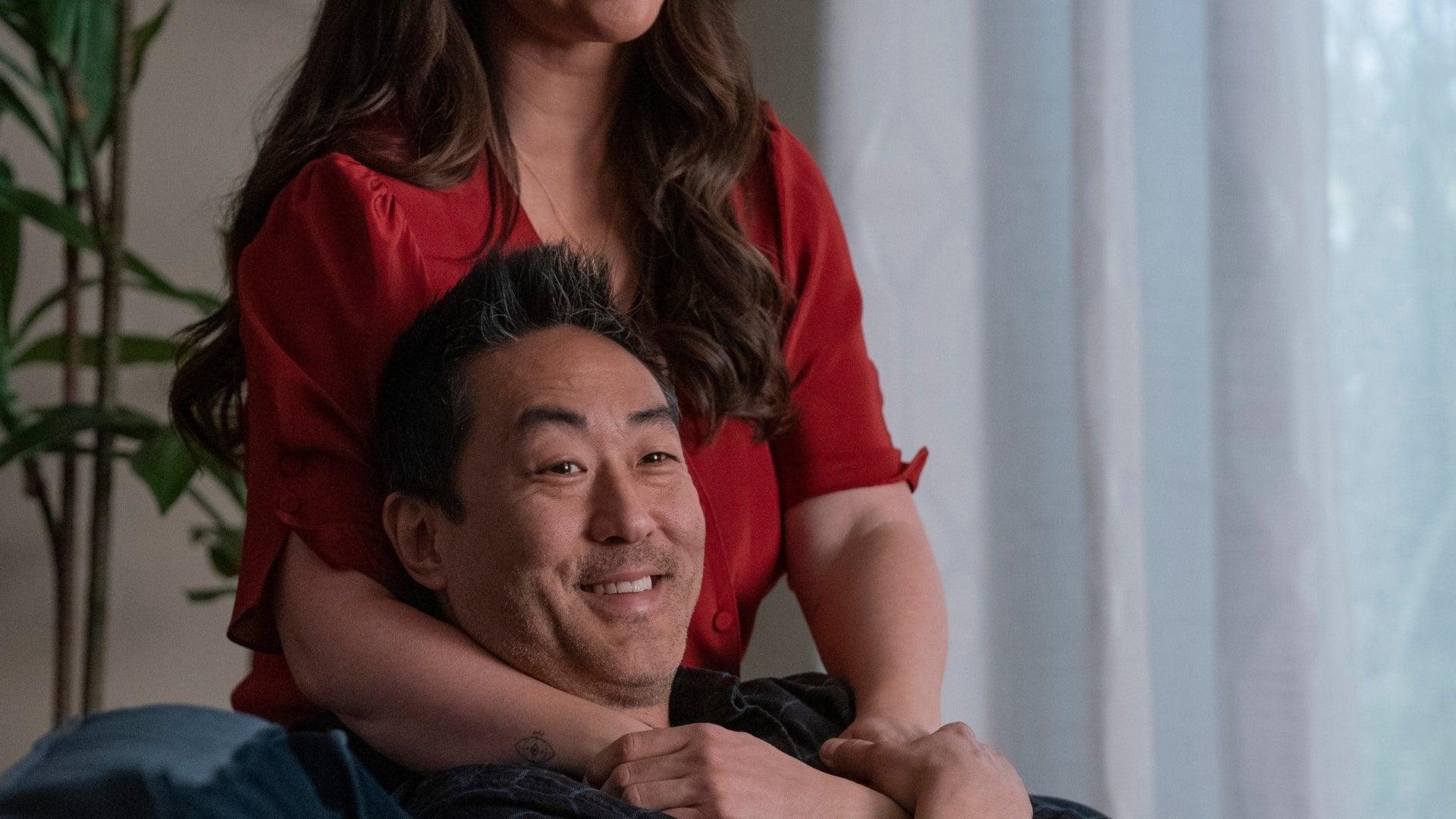 Kenneth Choi and Jennifer Love Hewitt, 9-1-1