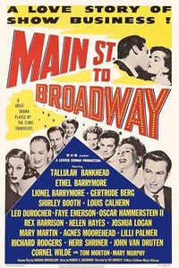 Main Street to Broadway as Herself
