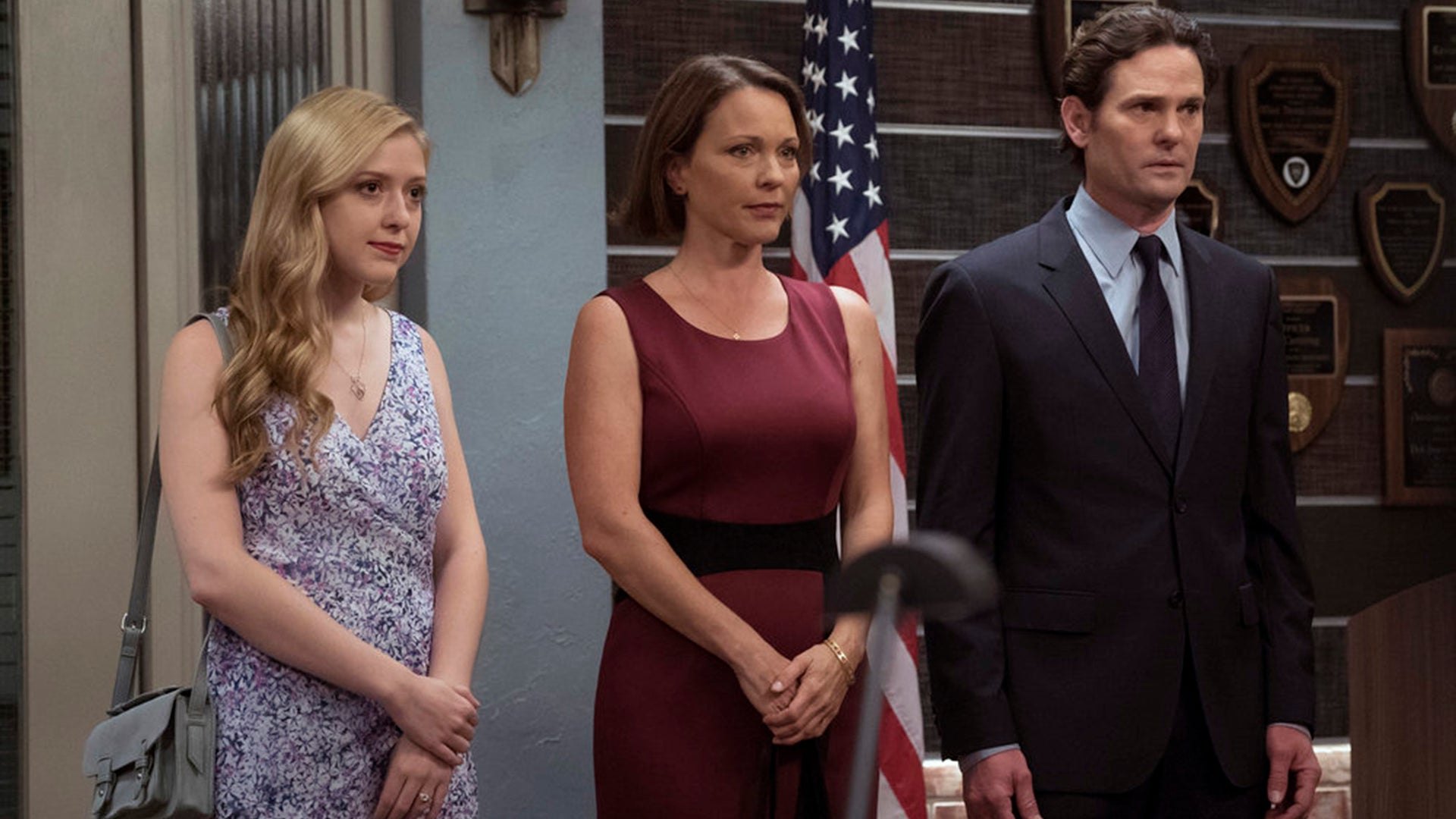 Alexis Collins, Kelli Williams and Henry Thomas, Law & Order: SVU
