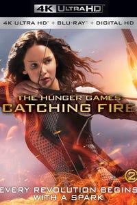 The Hunger Games: Catching Fire as Katniss Everdeen