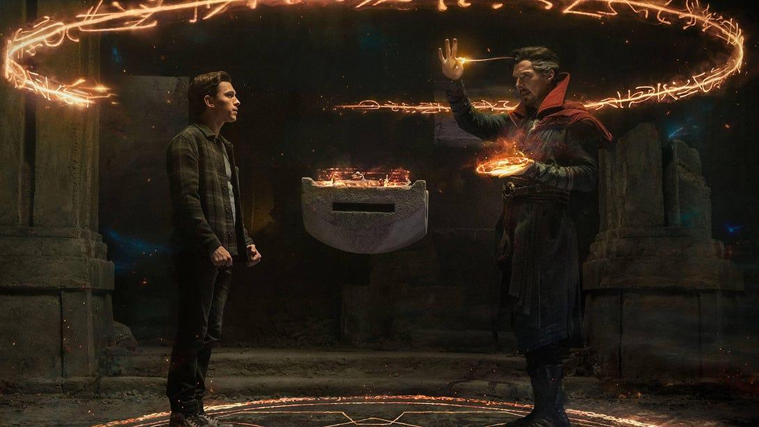 Tom Holland and Benedict Cumberbatch, Spider-Man: No Way Home