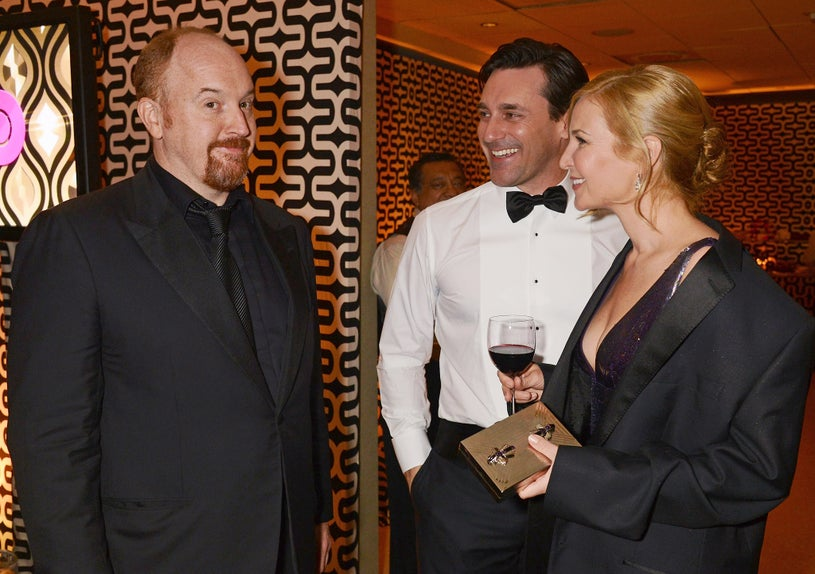 Louis C.K., Jon Hamm, Jennifer Westfeldt - HBO's Official Golden Globe Award's After Party in Beverly Hills, California, January 13, 2013