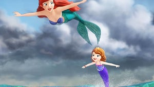 First Look: Sofia the First Meets Ariel, the Little Mermaid