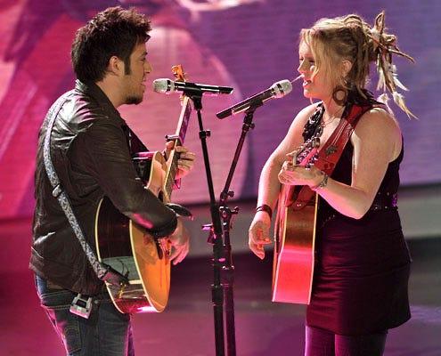 American Idol - Season 9 - Lee Dewyze and Crystal Bowersox