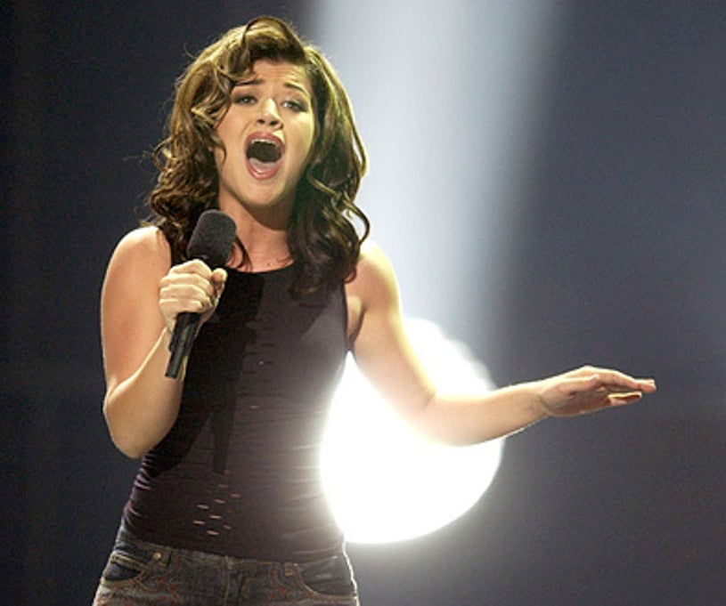"""Kelly Clarkson - The """"American Idol: The Search for a Superstar"""" finale results show, September 4, 2002"""
