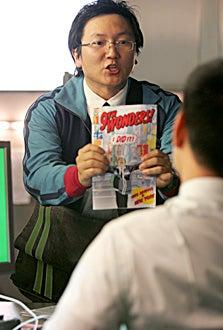 """Heroes - """"One Giant Leap"""" - Masi Oka as Hiro Nakamura"""