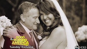 Robin Williams' Widow Breaks Down in Her First Interview Since His Death