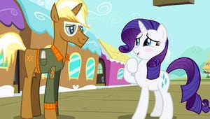 My Little Pony Exclusive Video: Who Is Rarity's Rival for Trenderhoof's Heart?