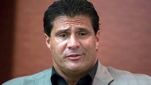 Jose Canseco Accidentally Shoots Himself in the Hand
