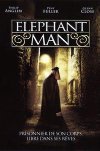 The Elephant Man as Princess Alexandra