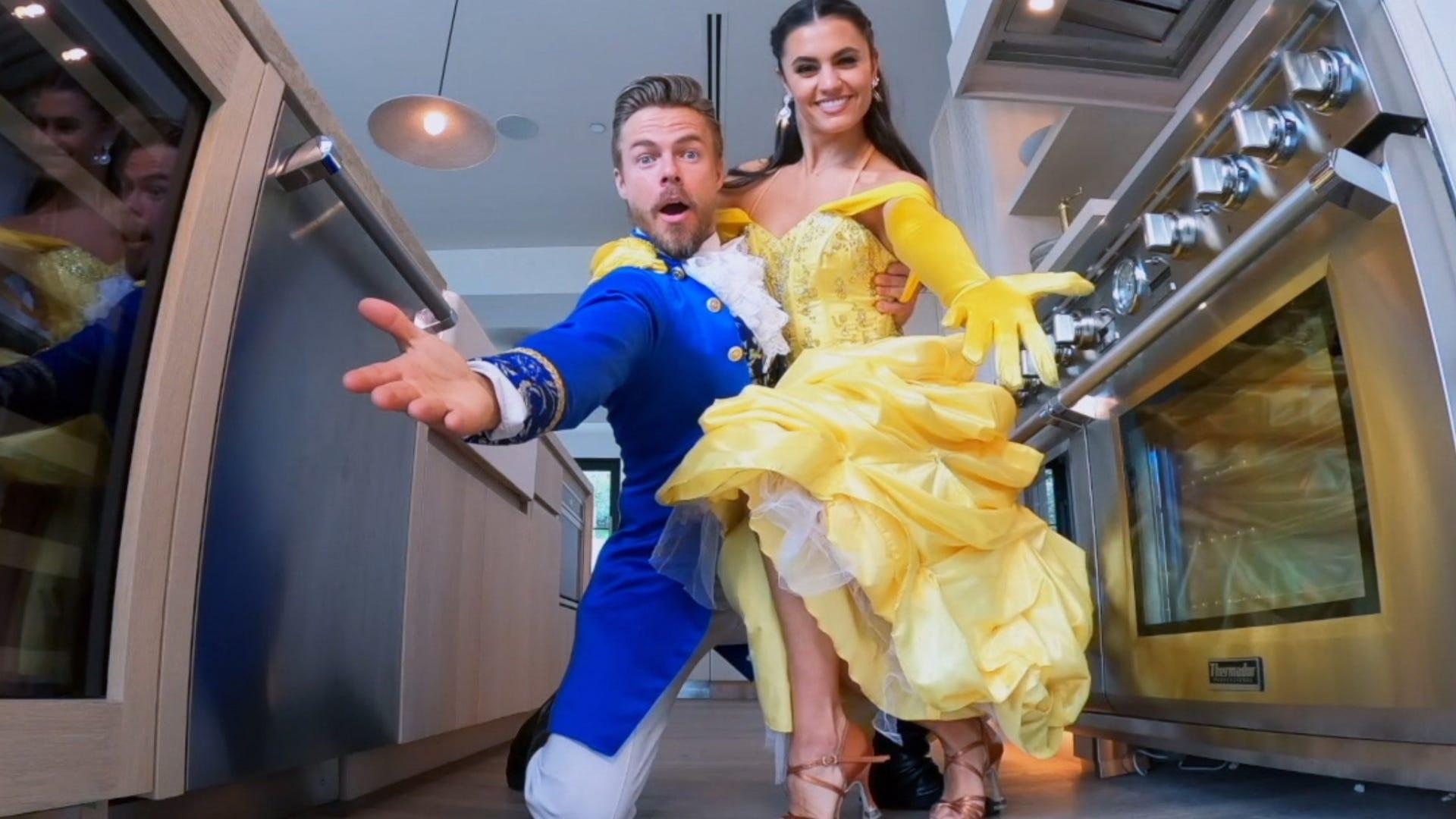 Derek Hough and Hayley Erbert, The Disney Family Singalong