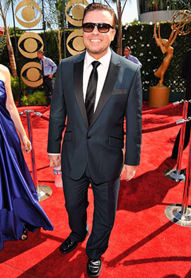 Ricky Gervais - The 61st Primetime Emmy Awards, September 20, 2009