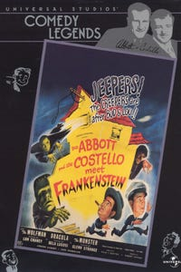 Abbott and Costello Meet Frankenstein as Lawrence Talbot/The Wolf Man