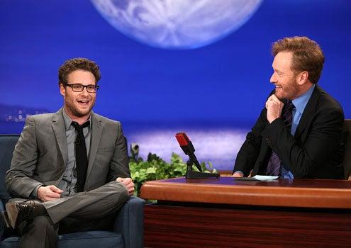 Conan - Season 1 - Seth Rogen and Conan O'Brien