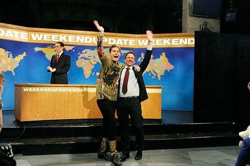 """Saturday Night Live - Season 38 - """"Ben Affleck"""" - Bill Hader and Seth Meyers"""