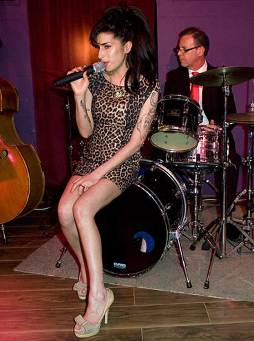 Amy Winehouse - City Burlesque launch party, London, England, Ocotber 8, 2010