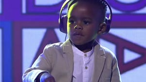 Watch This Adorable 3-Year-Old DJ Win South Africa's Got Talent