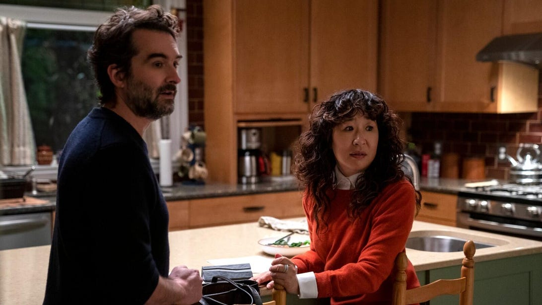 Sandra Oh and Jay Duplass, The Chair