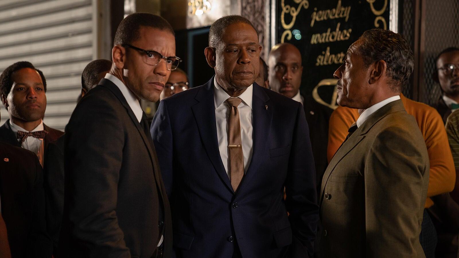 Nigel Thatch, Forest Whitaker, Giancarlo Esposito, Godfather of Harlem