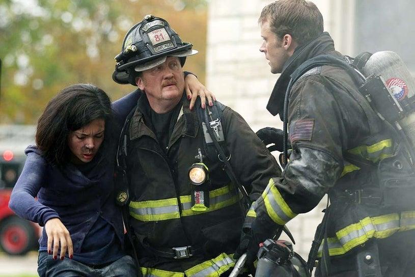 "Chicago Fire - Season 3 - ""Chopper"" - Christian Stolte and Jesse Spencer"