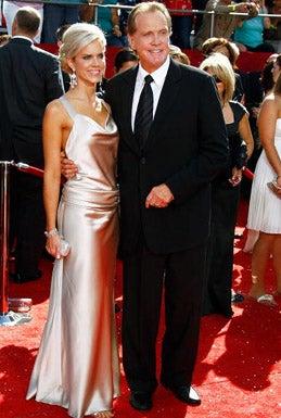 Lee Majors and wife Faith Majors - The 60th Primetime Emmy Awards, September 21, 2008