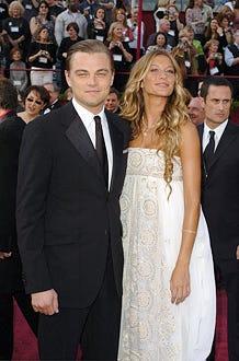 Leonardo DiCaprio and Gisele Bundchen - The 77th Annual Academy Awards