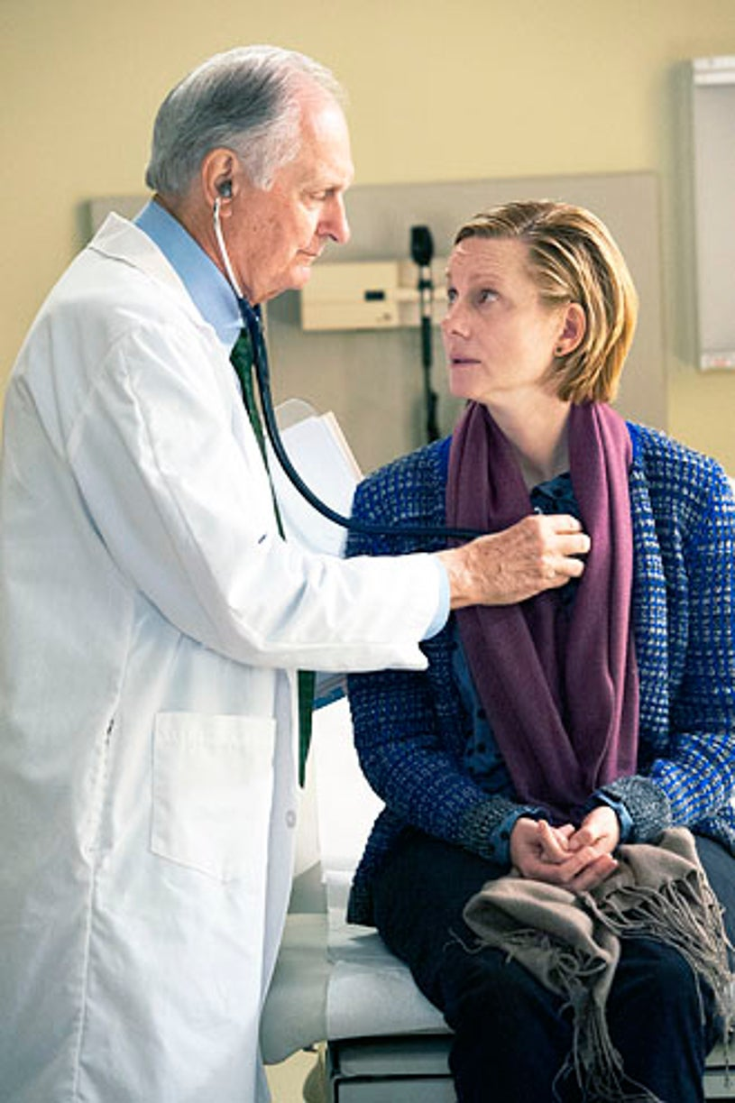 """The Big C: Hereafter - """"Quality of Life"""" - Alan Alda and Laura Linney"""