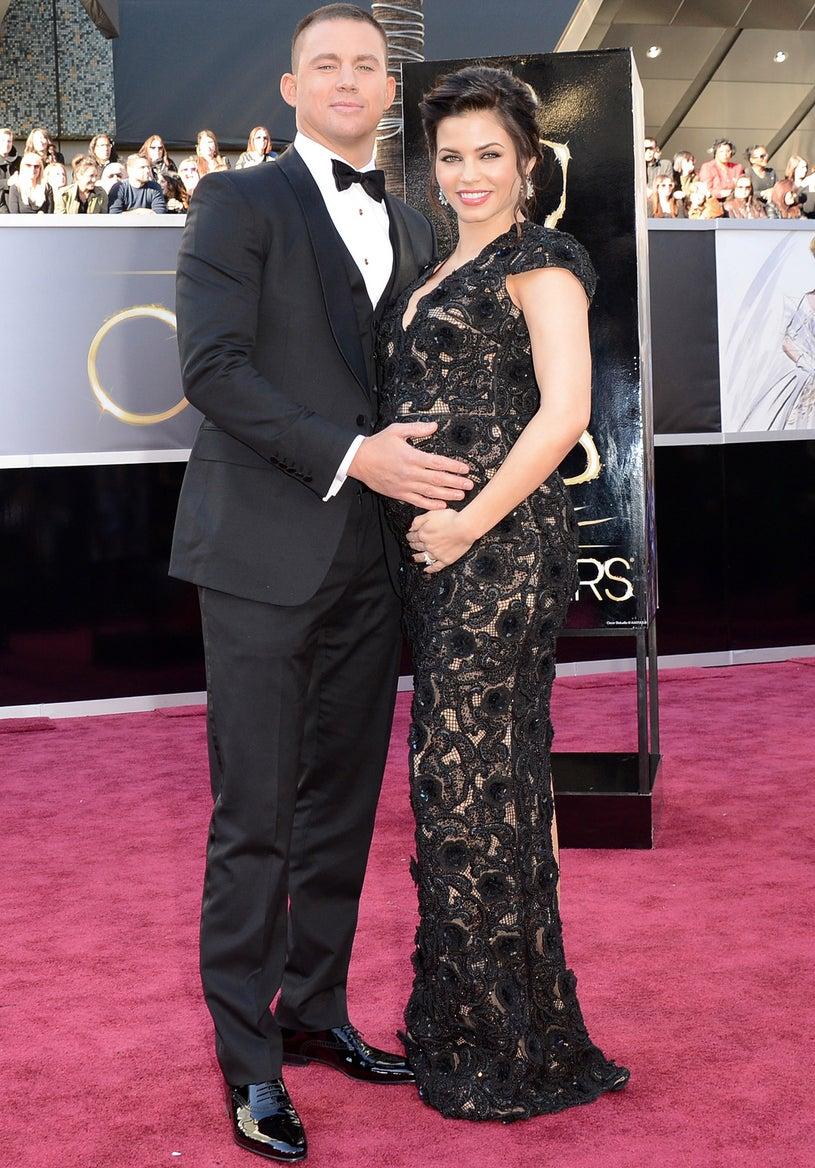 Channing Tatum and Jenna Dewan - 85th Annual Academy Awards in Hollywood, California, February 24, 2013