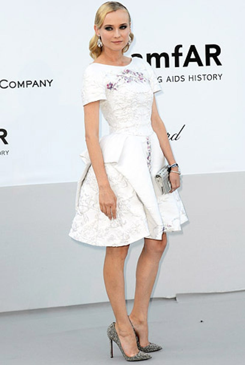 Diane Kruger - 2012 amfAR's Cinema Against AIDS during the 65ht Annual Cannes Film Festival in Cap D'Antibes, France, May 24, 2012