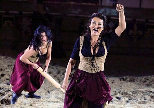 "The Celebrity Apprentice - Season 12 - ""Getting Medieval"" -  Teresa Giudice and Tia Carrere"