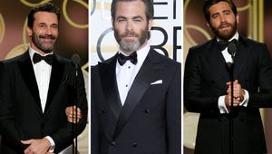 Here Are the Best Beards of the Golden Globes