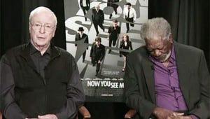 VIDEO: Morgan Freeman Falls Asleep During On-Camera Interview