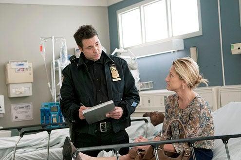 "Nurse Jackie - Season 5 - ""Smile"" - Adam Ferrara and Edie Falco"