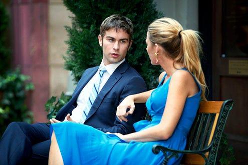 "Gossip Girl - Season 6 - ""High Infidelity"" - Chase Crawford and Blake Lively"