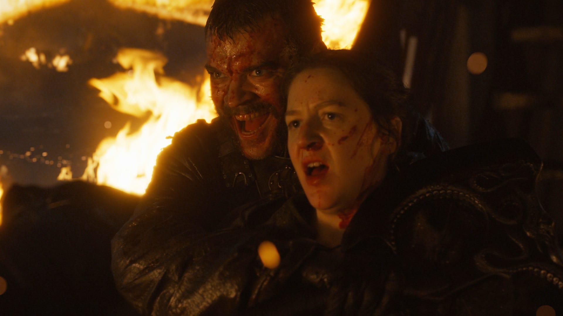 Pilou Asbæk, Gemme Whelan; Game of Thrones