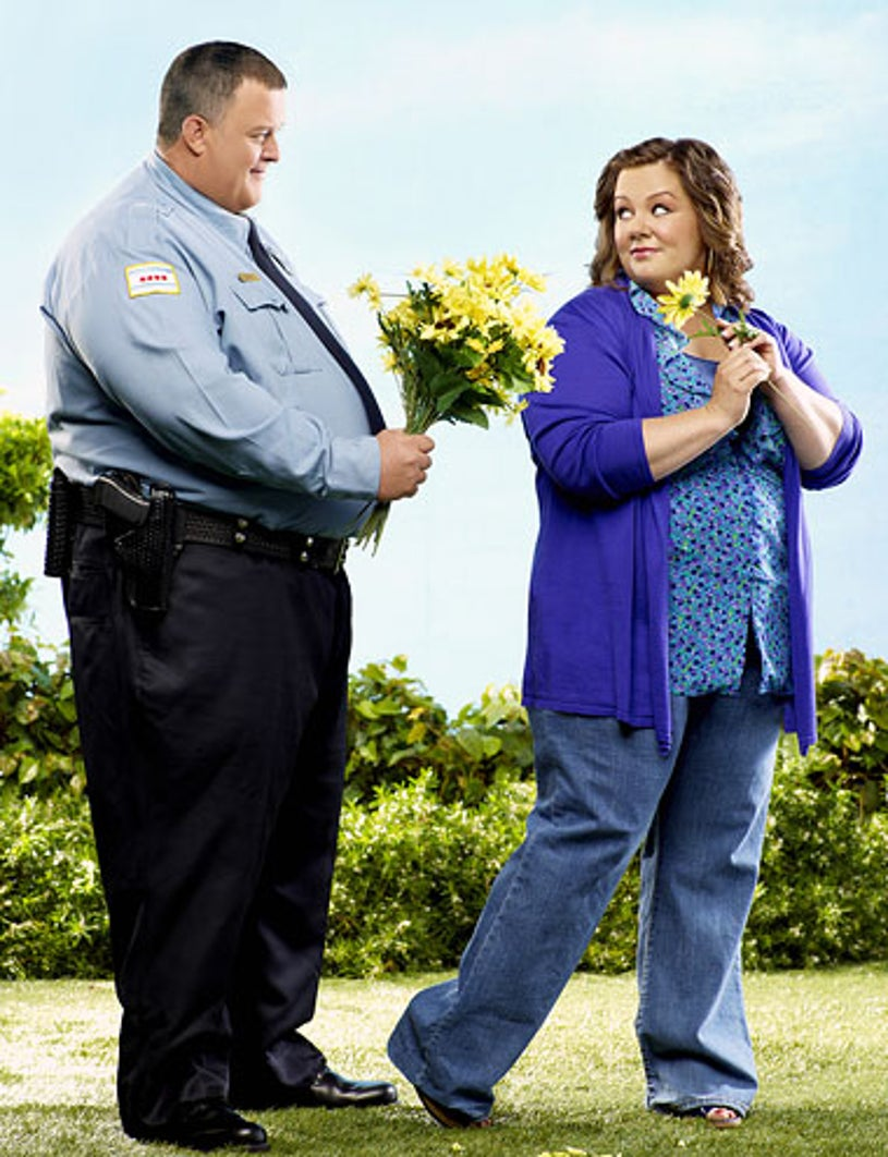 Mike & Molly - Season 1 - Billy Gardell as Mike Biggs and Melissa McCarthy as Molly Flynn