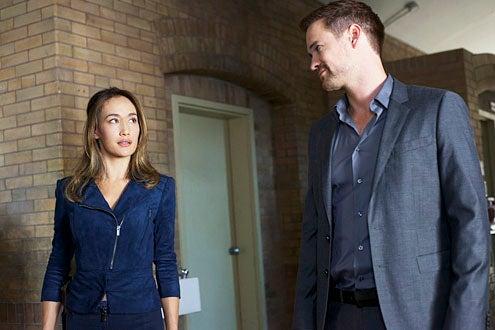 "Nikita - Season 3 - ""Consequences"" - Maggie Q and Shane West"
