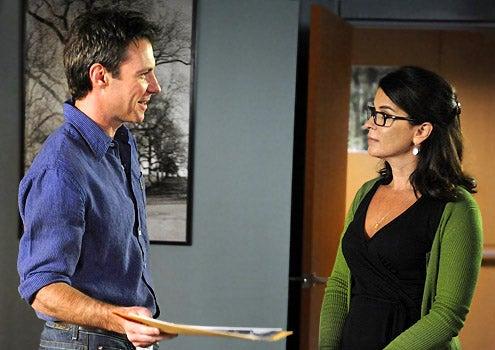 Mental - Chris Vance as Jack Gallagher and Annabella Sciorra as Nora Skoff