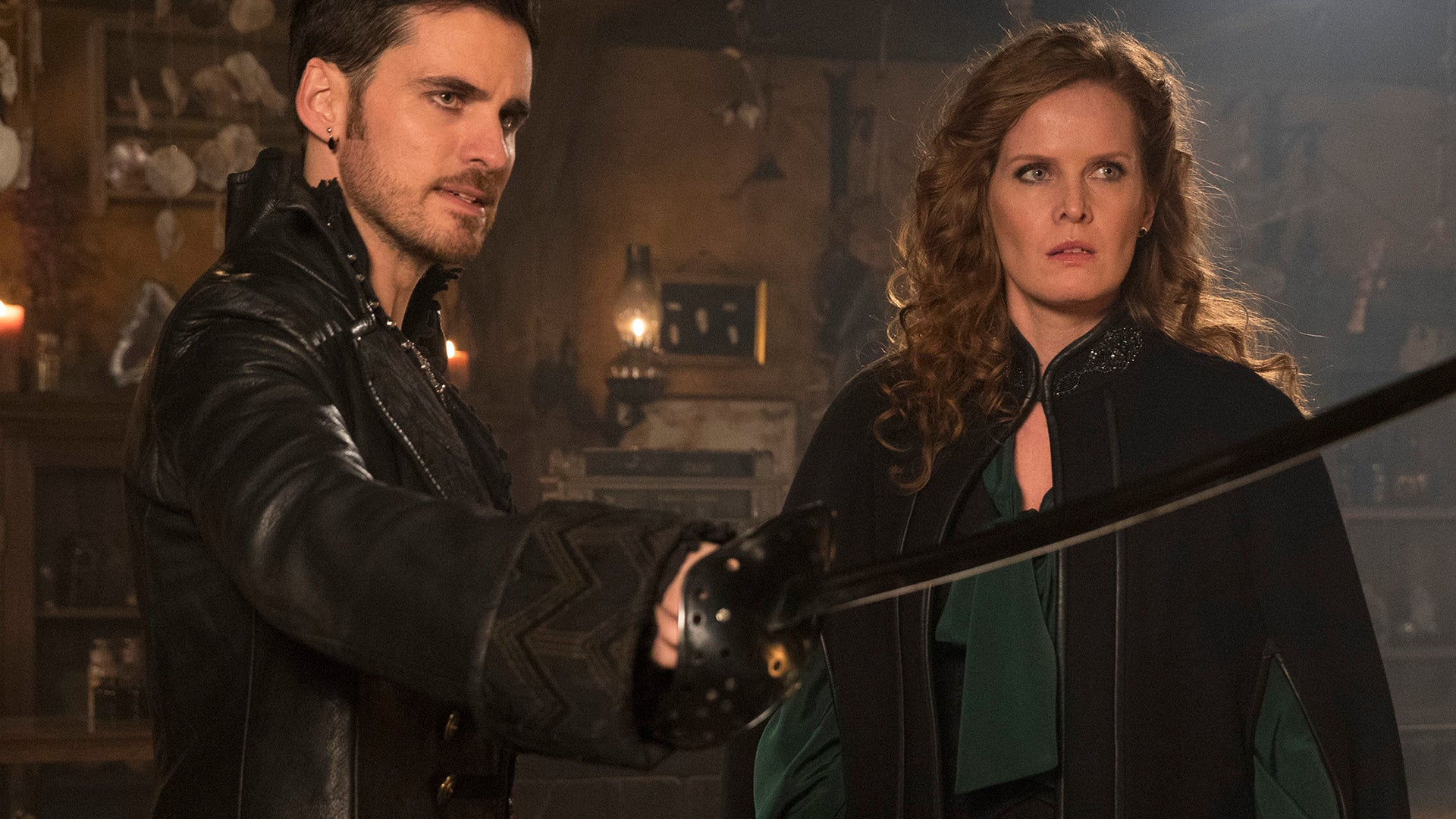 Colin O'Donoghue and Rebecca Mader, Once Upon a Time