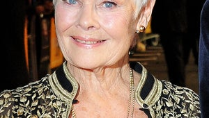 Judi Dench Walks Red Carpet Six Weeks After Knee Surgery