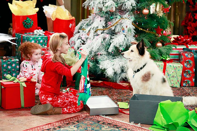 """Dog with a Blog - Season 1 - """"Bark! The Herald Angels Sing"""" -  Francesca Capaldi and G. Hannelius"""