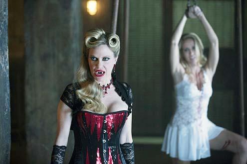 "True Blood - Season 7 -""Thank You"" - Kristin Bauer van Straten and Anna Camp"