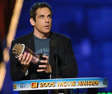 Ben Stiller - The 2005 MTV Movie Awards, June 4, 2005